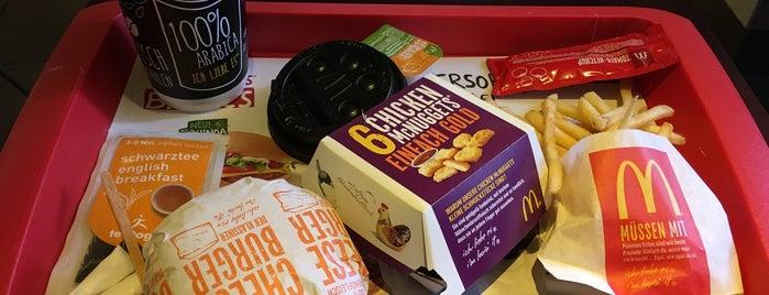 McDonald's is one of DK 님이 좋아한 장소.