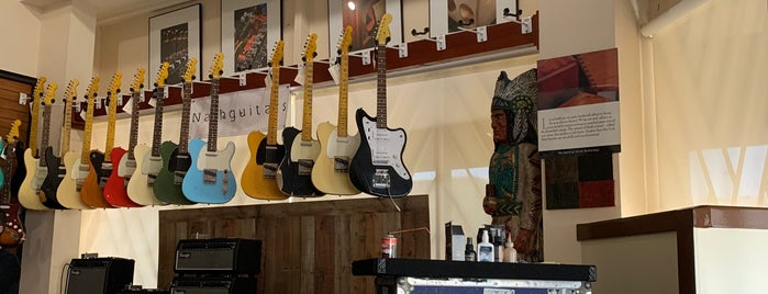 Mesa Boogie is one of LA Music Shops.