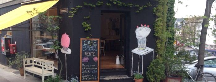 CAFéBABEL is one of Simon 님이 좋아한 장소.