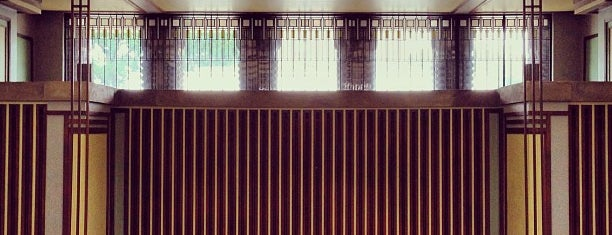 Frank Lloyd Wright's Unity Temple is one of Chicago Part II.