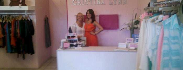 Cristina Lynn is one of LA Shopping.