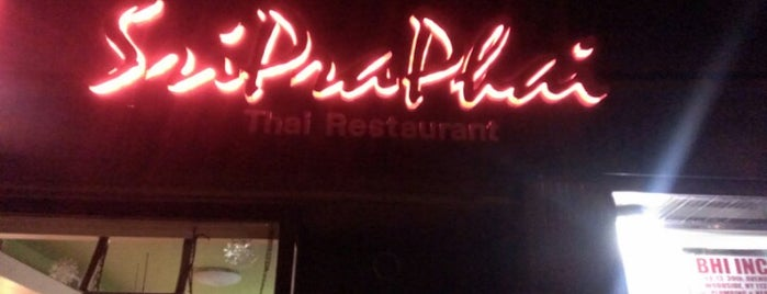 SriPraPhai is one of Restaurants I've been to.