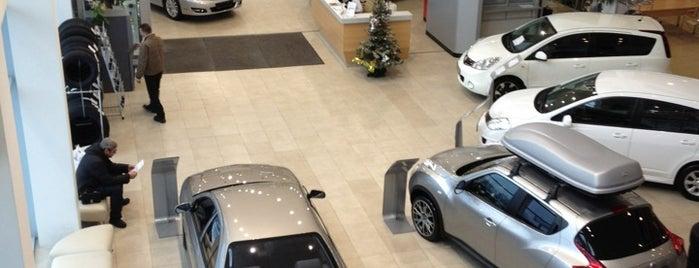 АвтоСпецЦентр Химки — Официальный дилер Nissan is one of Lugares favoritos de АвтоСпецЦентр.