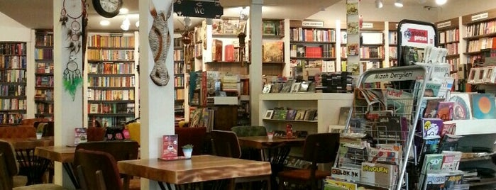 Octopus Book & Cafe is one of Travel Guide to Antalya.