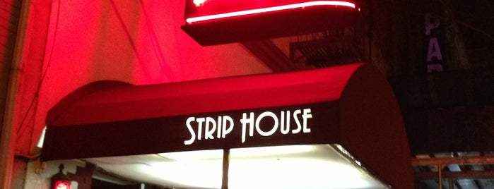 Strip House is one of NY's Nuttiest Drinks.