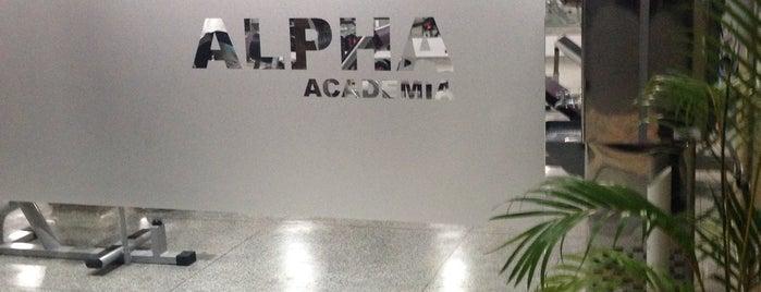 Alpha Academia is one of Katherynn 님이 좋아한 장소.