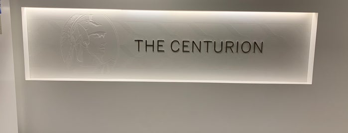 The Centurion Lounge by American Express is one of Posti che sono piaciuti a Alfonso.