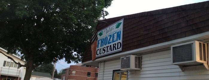 Wolf's Frozen Custard is one of Posti che sono piaciuti a Jonathan.