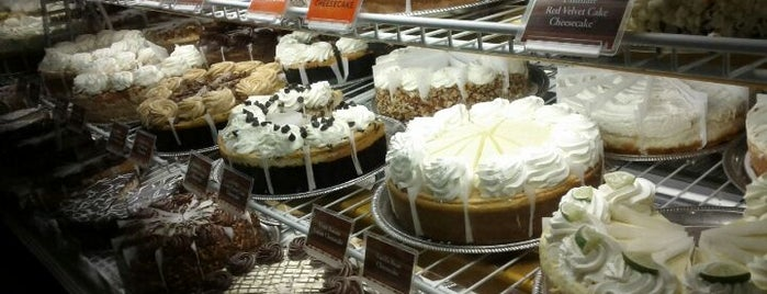 The Cheesecake Factory is one of San Francisco Bay.