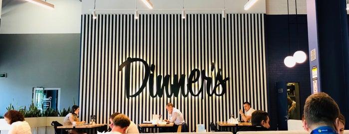 Dinner's is one of สถานที่ที่ Olesya ถูกใจ.