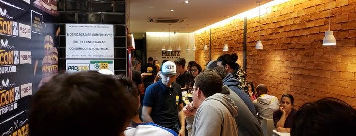 Meatz Burger'n'Beer is one of My Brasilia.