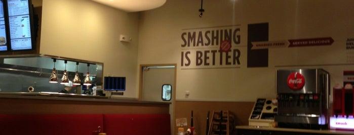 Smashburger is one of David : понравившиеся места.