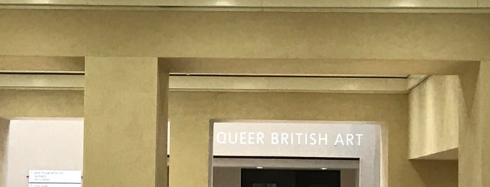 Queer British Art is one of Orte, die Paul gefallen.