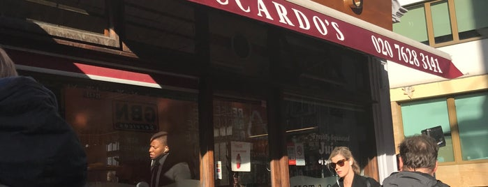 Riccardo's is one of Eat.