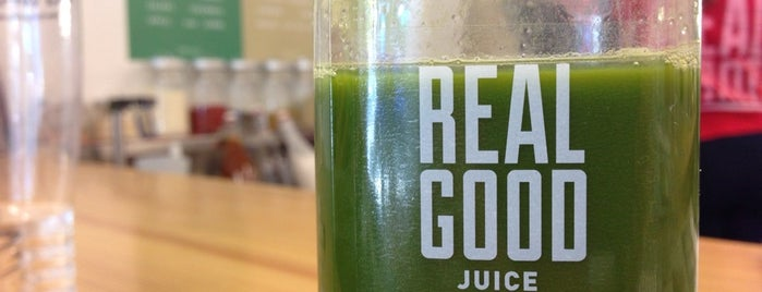 Real Good Juice Co. is one of Coffee Shops.