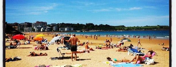 Playas del Sardinero is one of Santander.