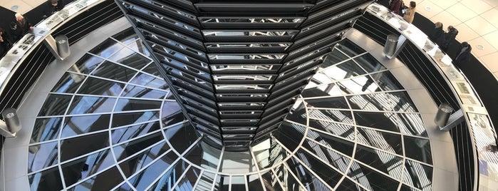 Deutscher Bundestag is one of Berlin.