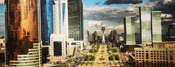 Нұр-Сұлтан / Nur-Sultan is one of สถานที่ที่ Maxim ถูกใจ.