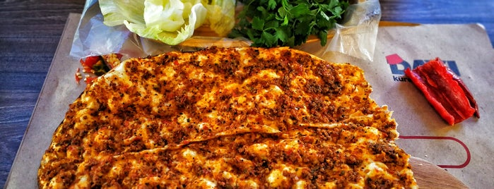 Dayı Kürek Lahmacun is one of Rüya 님이 좋아한 장소.