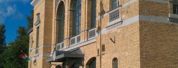 Szeged pályaudvar (1, 2) is one of Posti che sono piaciuti a Levente.