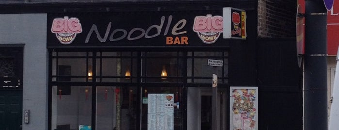 Big Bowl Noodle Bar is one of Pez's Liverpool Recommendations.