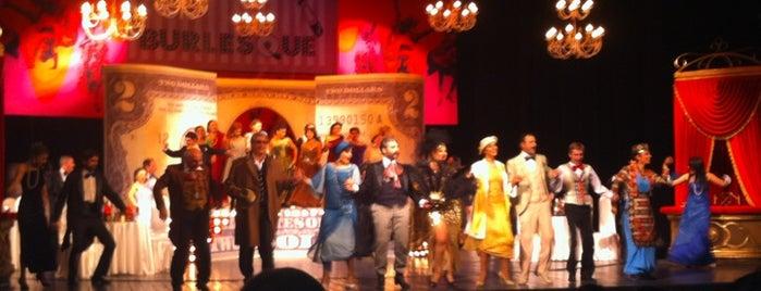 Hakob Paronyan Theatre | Հակոբ Պարոնյանի անվան Երաժշտական Կոմեդիայի Պետական Թատրոն is one of Syuzi : понравившиеся места.