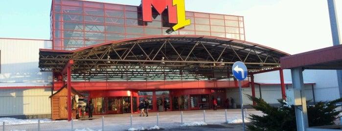 Centrum Handlowe M1 is one of Tuğberkさんのお気に入りスポット.
