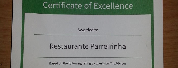 Restaurante Parreirinha is one of Good places to eat in Joburg.
