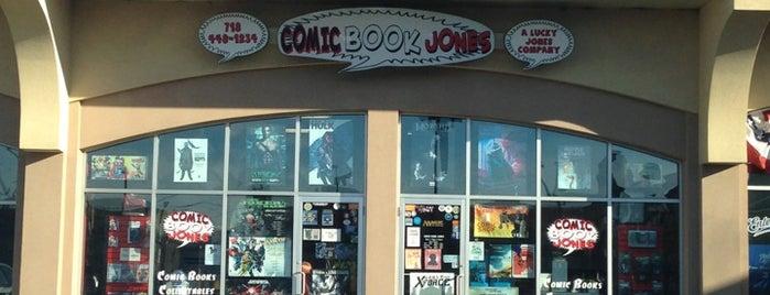 Comic Book Jones is one of Comics NYC.