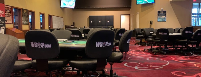 Rio Poker Room is one of Vegas.