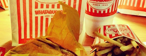 Whataburger is one of Carrie : понравившиеся места.