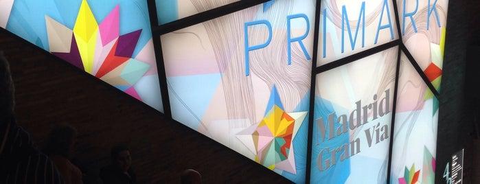 Primark is one of Madrid 2015.