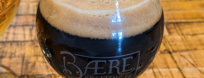 Baere Brewing Co. is one of Denver todos: BEER.