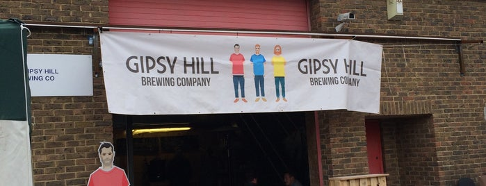 Gipsy Hill Brewery is one of London's Best for Beer.