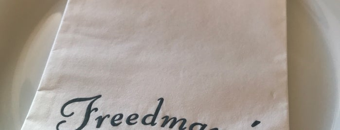 Freedman's is one of Food places to try.