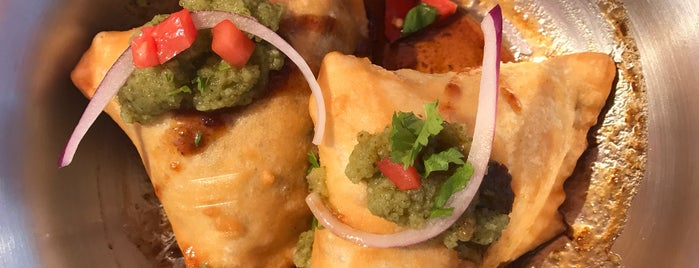 The Red Dot Vegetarian Restaurant is one of I-5 Eats.