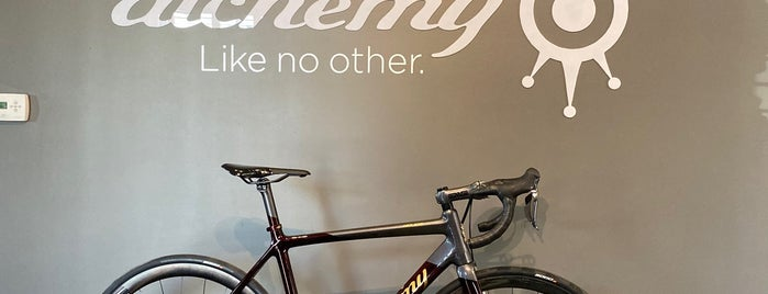 Alchemy Bicycles is one of Dominic 님이 좋아한 장소.