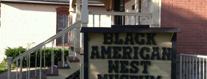 Black American West Museum is one of Denver Places.