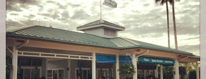 SeaWorld Ticket Office is one of Orte, die Jeff gefallen.