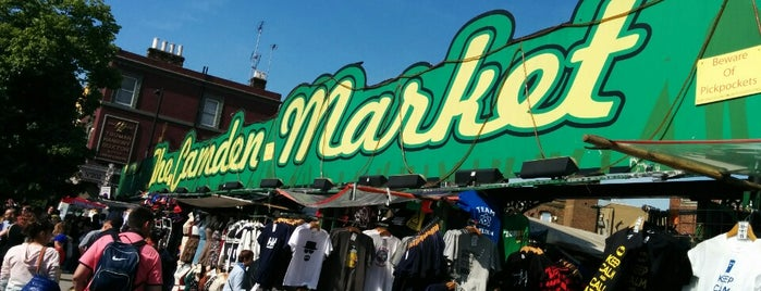 Camden Market is one of London.