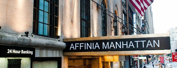 Manhattan NYC, an Affinia Hotel is one of Lugares favoritos de Maru.