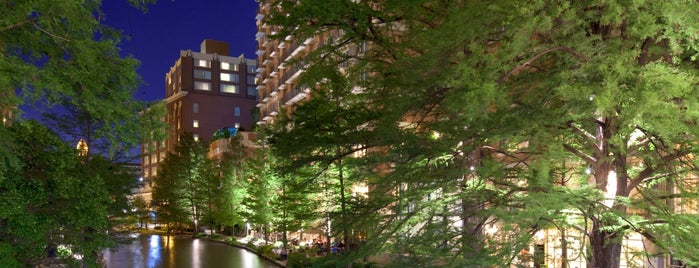 The Westin Riverwalk, San Antonio is one of Tempat yang Disukai Gregory.
