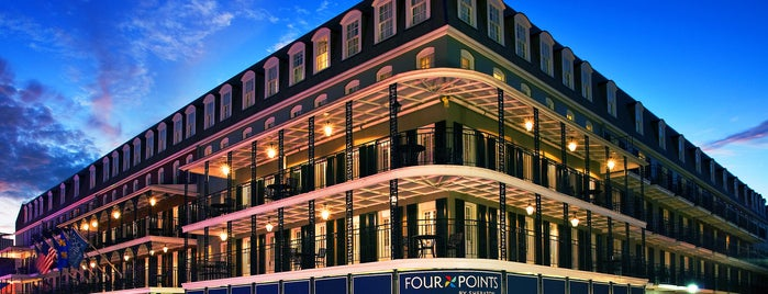 Four Points by Sheraton French Quarter is one of OffBeat's favorite New Orleans music venues.