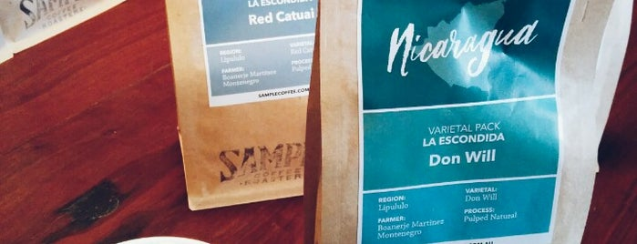 Sample Coffee is one of Sydney here and there 2014.