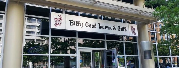 Billy Goat Tavern is one of Bars, Restaurants to try in DC.