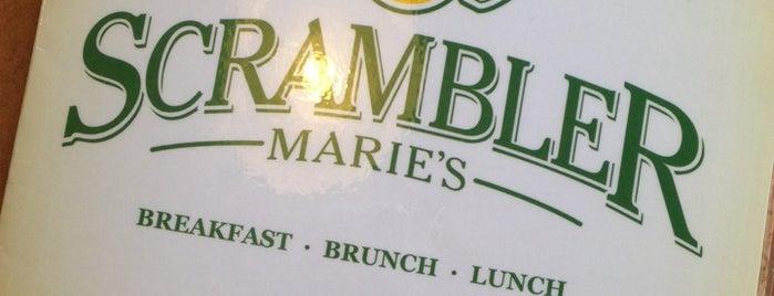 Scrambler Marie's is one of 1.aesaeeaeeseaesssa.