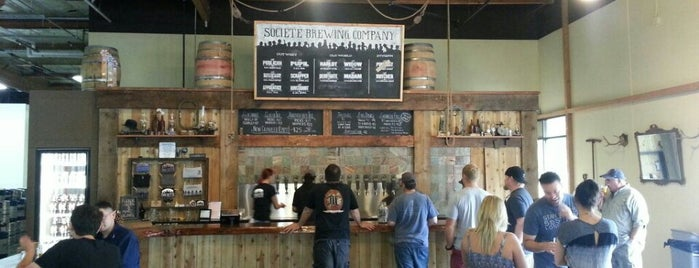 Societe Brewing Company is one of San Diego's Best Beer - 2013.