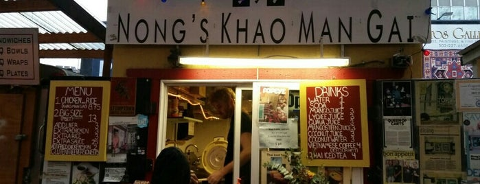 Nong's Khao Man Gai is one of Portland's Best.