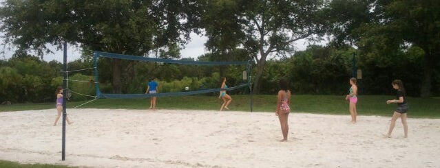 Lake St. Charles Beach Volleyball Court is one of My Fun.