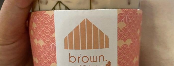 Brown Café is one of BKK_Tea/ Chocolate/ Juice Bar.